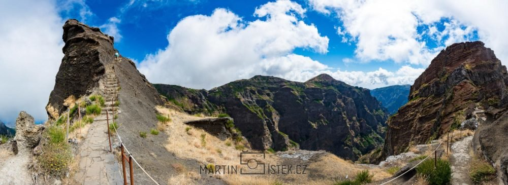 Turistická trasa na nejvyšší horu Madeiry - Pico Ruivo
