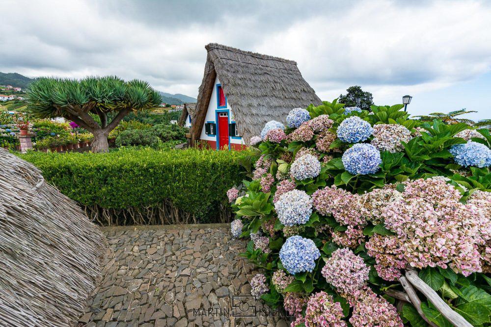 Typické madeirské domky, Santana