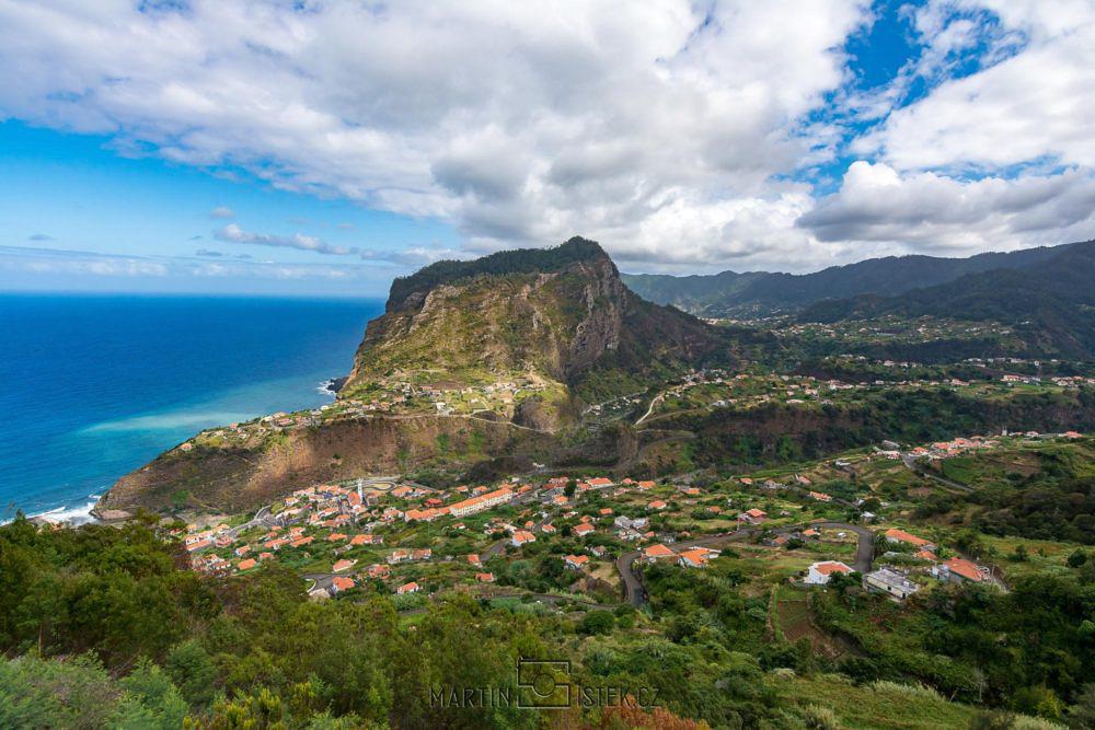 Hora Faial, severní část ostrova Madeira