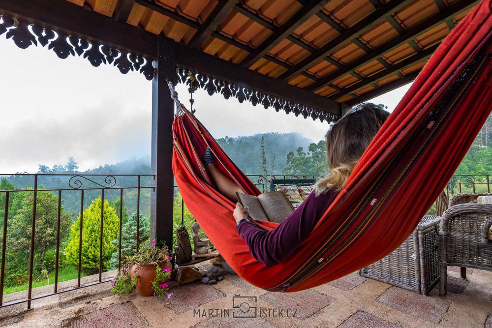 B&B Quinta do Lombo - výhled z terasy