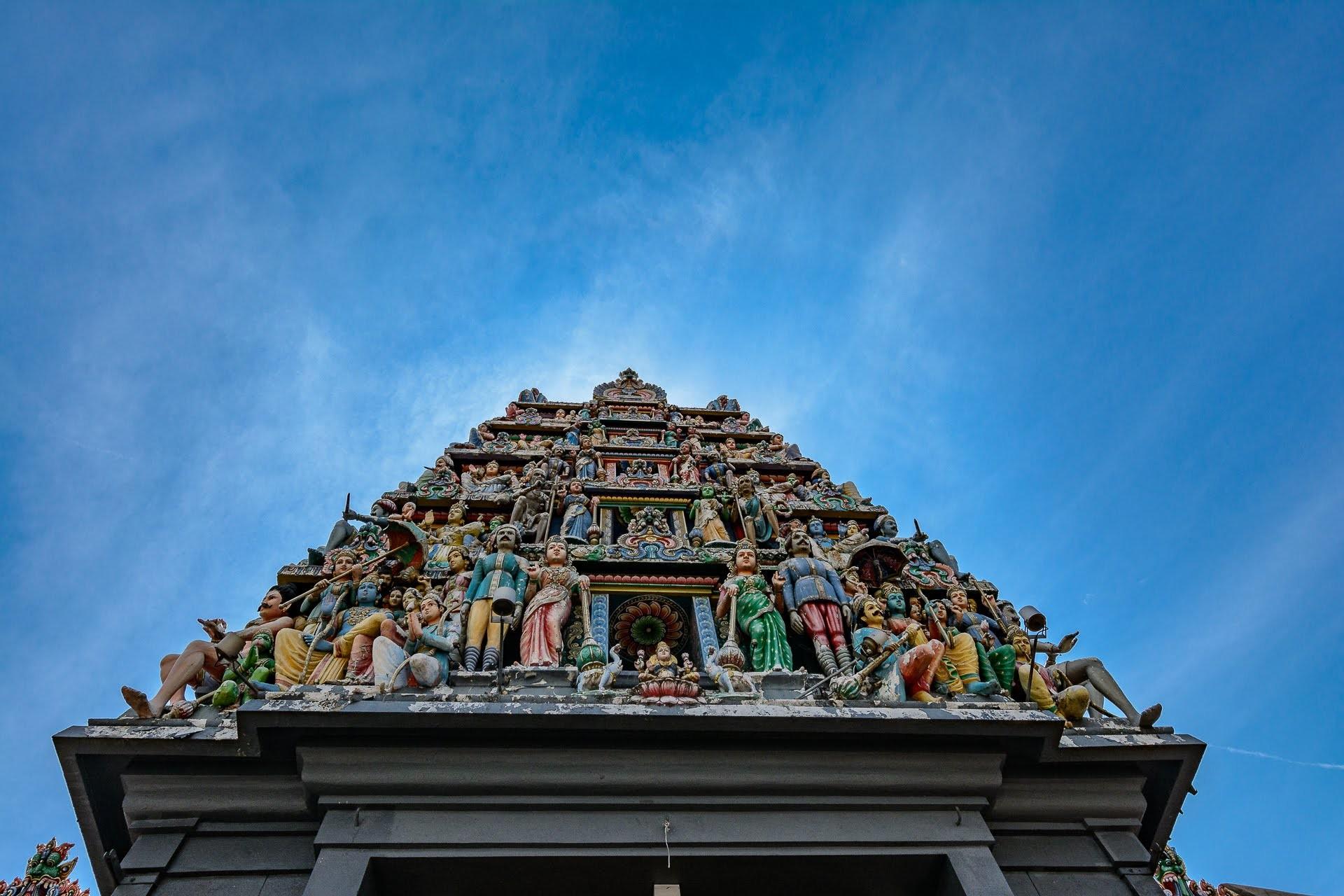 Sri Mariamman Temple - Malajsie cestopis, Martin Šístek