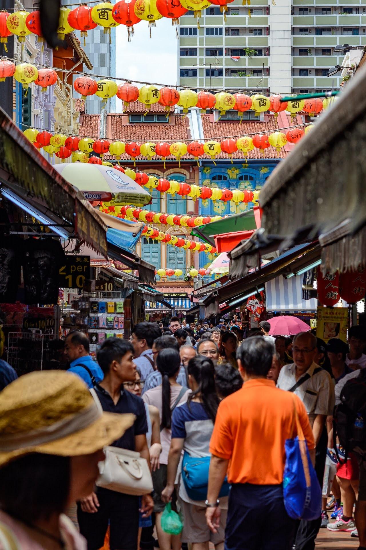 Čínská čtvrť v Singapuru - Malajsie cestopis, Martin Šístek