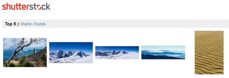 Shutterstock - top 5 nejprodávanějších fotografií