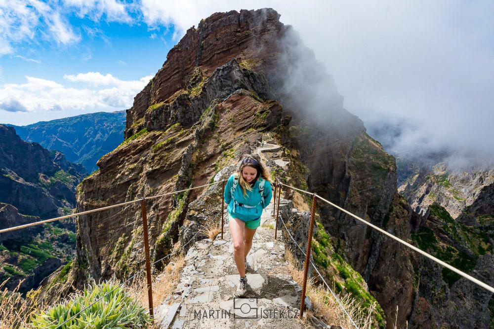 Cesta na nejvyšší horu Madeir - Pico Ruivo