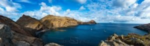 Východní cíp ostrova Ponta de São Lourenço, Madeira, Portugalsko