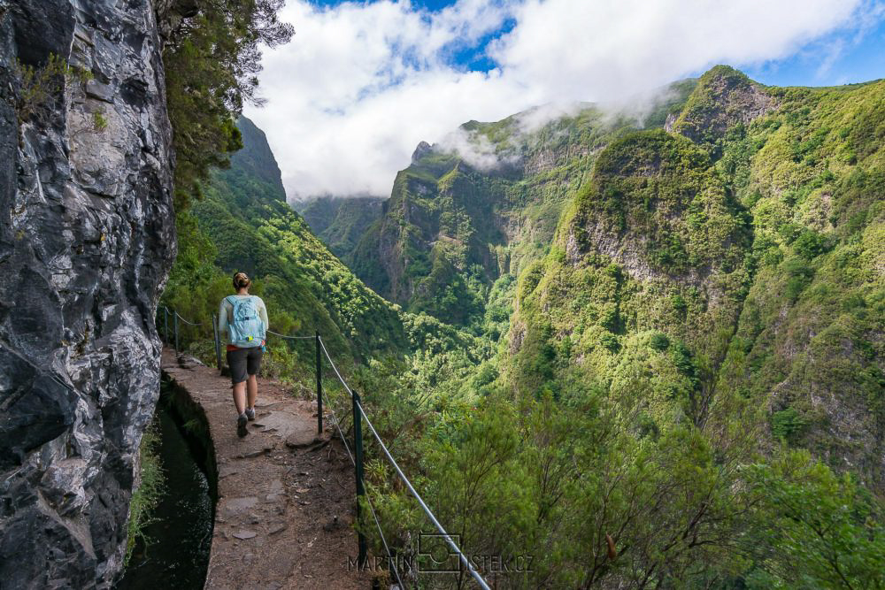 Levada do Caldeirão Verde, Madeira, Portugalsko
