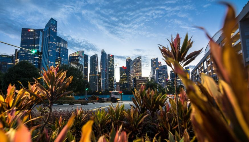 Singapur Downtown - Malajsie cestopis, Martin Šístek