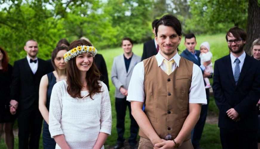 Svatební fotografování - Petr a Andrejka